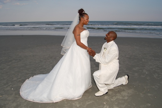 Ruffin Beach Wedding